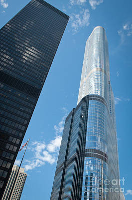 Travel - Trump Tower and IBM Building in Chicago by Dejan Jovanovic