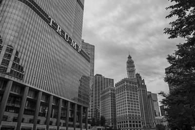 Photograph - Trump Tower And Water Tower  by John McGraw