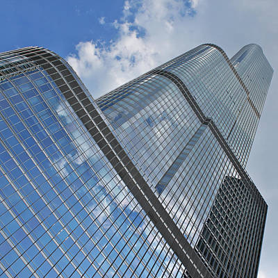 Photograph - Trump Tower Chicago by Ed Pettitt