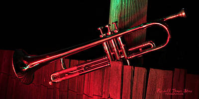 Photograph - Trumpet In Light by Randall Thomas Stone