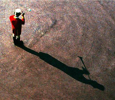 Wall Art - Photograph - Trumpet Shadow by Mark Sullivan