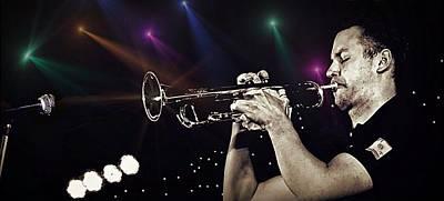 Photograph - Trumpet Solo by Ian Gledhill