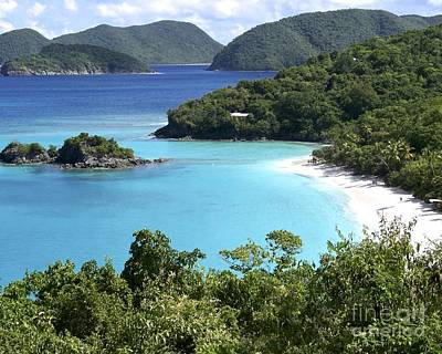 Photograph - Trunk Bay II by Carol  Bradley