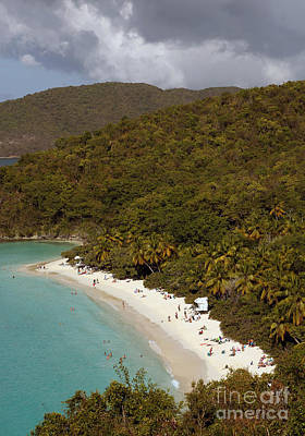 Photograph - Stormy Trunk Bay by Betty Morgan