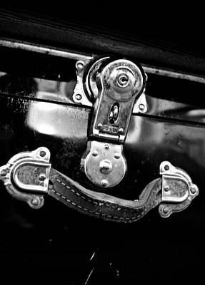 Photograph - Trunk Latch by Adria Trail