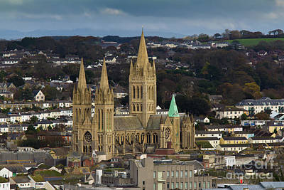 Photograph - Truro Cathedral  by Brian Roscorla