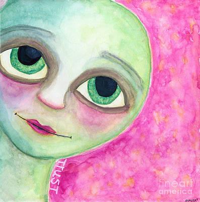 Painting - Trust by AnaLisa Rutstein