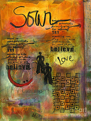 Painting - Trust In Your Potential by Angela L Walker