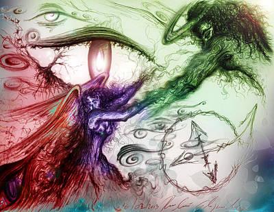 El Amor Painting - Trust Me by Ruben Santos