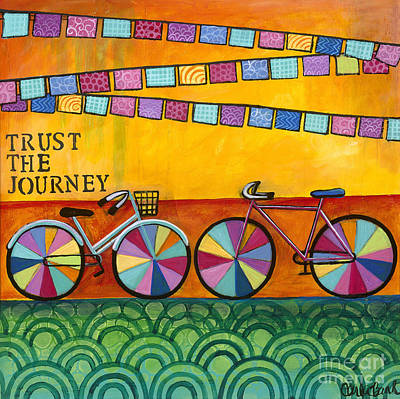 Painting - Trust The Journey by Carla Bank