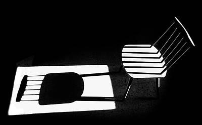 Chair Photograph - Truth & Fiction by Sara-le Elbar
