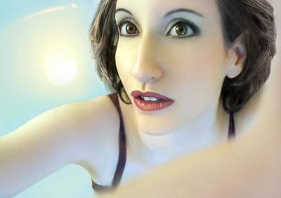 Self-portrait Photograph - Truth Seeker - Self Portrait by Jaeda DeWalt