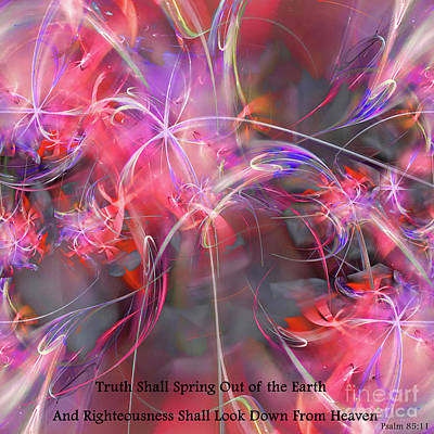 Digital Art - Truth Shall Spring Out by Margie Chapman