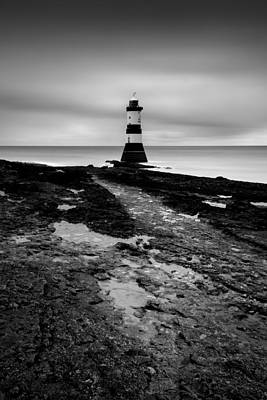 North Wales Uk Photograph - Trwyn Du Lighthouse 2 by Dave Bowman