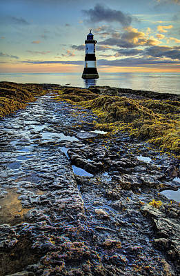 Travel Rights Managed Images - Trwyn Du Lighthouse Royalty-Free Image by Mal Bray