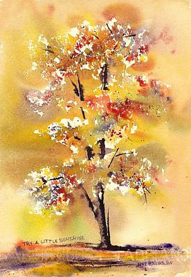 Painting - Try A Little Sunshine by June Rollins