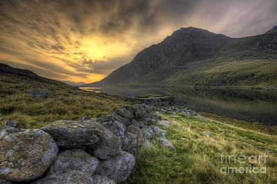 North Wales Digital Art - Tryfan By Morning  by Darren Wilkes