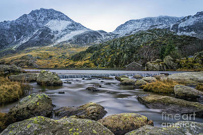 Photograph - Tryfan  by Ian Mitchell