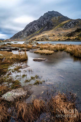 Tryfan Photograph - Tryfan Mountain by Adrian Evans