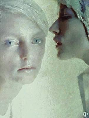 Sorrow Digital Art - Trying To Reach The Unreacheble One by Gun Legler