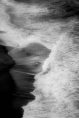 Seaside Photograph - Trying To Surf by Olavo Azevedo