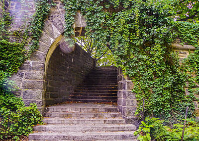 Of Stairs Photograph - Tryon Park Arch by Jon Woodhams