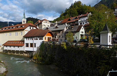 Photograph - Trzic - Slovenia by Phil Banks