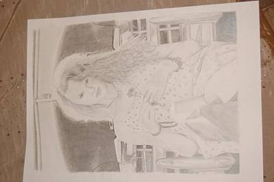 Taylor Swift Drawing - T.s Country by Richie Wentworth