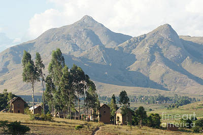 Tsaranoro Mountains Madagascar 1 Print by Rudi Prott
