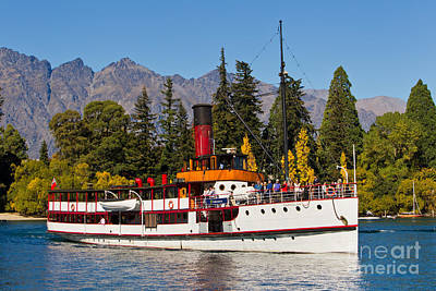Remarkable Photograph - Tss Earnslaw by Bill  Robinson