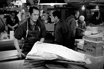 Photograph - Tsukiji Tokyo Fish Market by Sebastian Musial