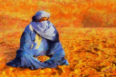 Tuareg 2 L.e. Art Print by George Rossidis