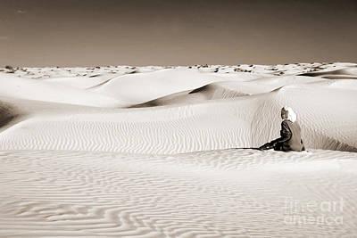 Sahara Photograph - Tuareg by Delphimages Photo Creations