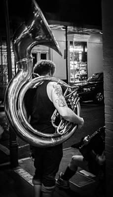 Photograph - Tuba Tat by Jeff Mize