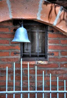 Jerry Sodorff Royalty-Free and Rights-Managed Images - Tubac Bell 31792 by Jerry Sodorff