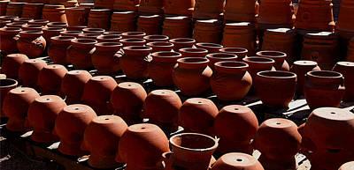 Photograph - Tubac Pottery Factory by Joe Kozlowski