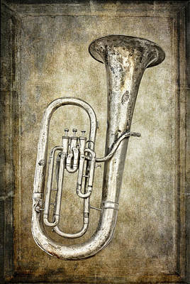 Trombone Digital Art - Tubacular by Daniel Hagerman