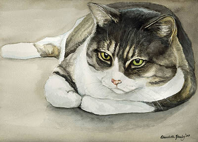 Tubby Art Print by Charlotte Yealey