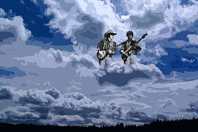 Tucker Boys In The Clouds 2 Art Print
