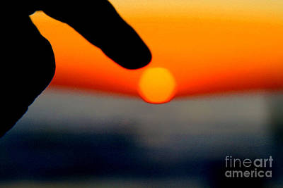 Photograph - Tucking In The Sun By Diana Sainz by Diana Raquel Sainz
