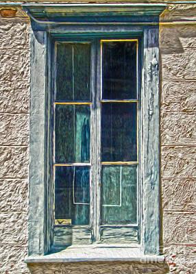 Tucson Arizona Window Art Print by Gregory Dyer