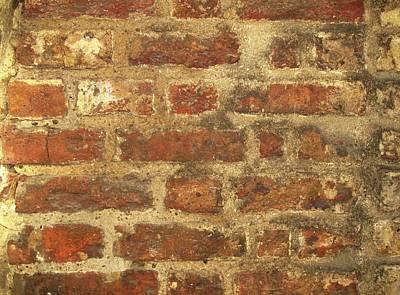 Tudor Brickwork Art Print