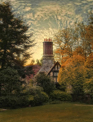 Photograph - Tudor In Autumn by Jessica Jenney