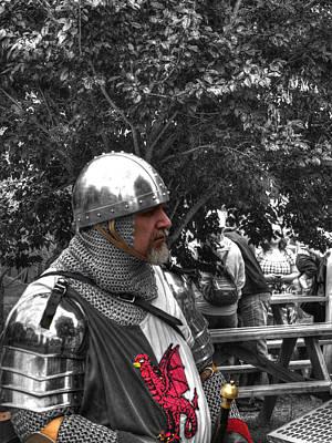 Armor Photograph - Tudor Knight In Armor  V1 by John Straton