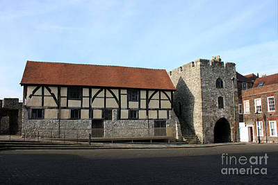 Photograph - Tudor Merchant's Hall by Terri Waters