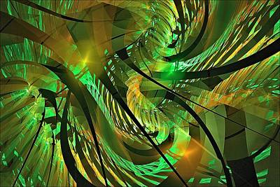 Digital Art - Tuesday Afternoon Arboretum by Doug Morgan