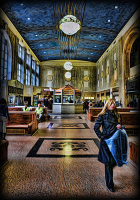 Tuesday Afternoon At The Train Station Art Print by Lee Dos Santos
