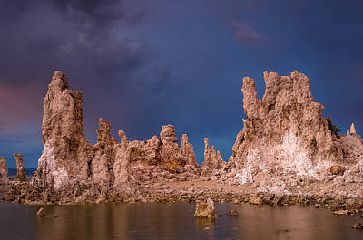 Photograph - Tufa Evening by Greg Nyquist