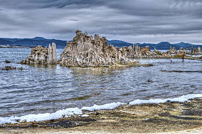 Photograph - Tufa Mono Lake by SC Heffner