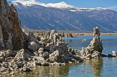 Photograph - Tufas Mono Lake by Steven Lapkin
